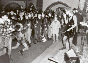 Punk Concert in the Erlöser Church in Berlin-Rummelsburg